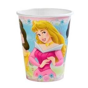 Vasos De Papel 8 Unidades De Princesa Disney Tamps
