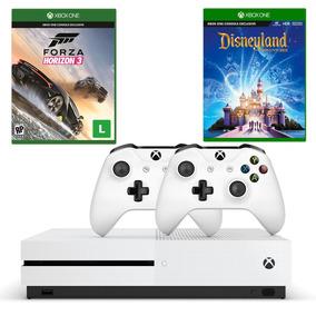 Cb Xbox One S 500gb+forza Horizon 3+disneyland Adv+controle