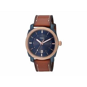 Reloj Fossil Machine Navy Blue Fs5266 Envío Gratis Watchito