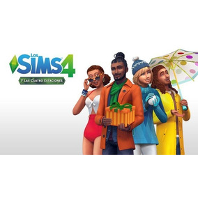 Los Sims 4 Pc Deluxe Full + Ultima Version 4 Estaciones