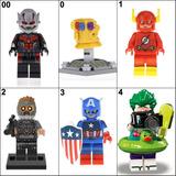 Figuras Super Heroes Marvel Dc Compatible Con Legos