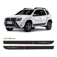 Faixa Adesivo Duster Tech Road Techroad 2013 2014 2015