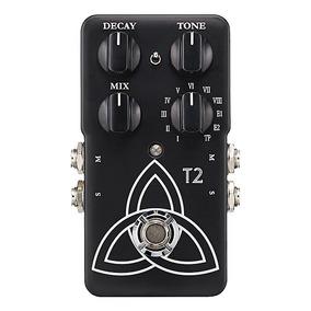 Tc Electronic T2 Reverb Pedal De Guitarra Estéreo 10 Modos !