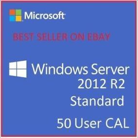 Windows Server 2012 R2 Standard + 50 Cal Rds User + Nf-e
