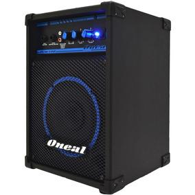 Caixa Multiuso Amplif Oneal Ocm 180 30w Rms Entrada Aux