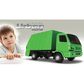 Caminhão De Lixo Urban Coletor Roma Brinquedos