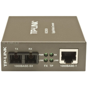 Tp Link Mc200cm Transceiver Utp A Fibra Multimodo Gigabit