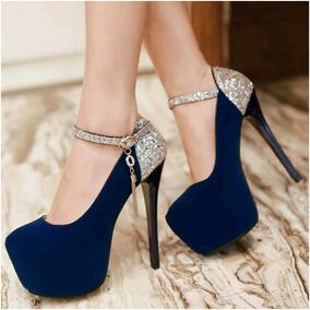 Sapato Salto Importado Ref3479
