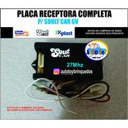 Placa Receptora 27mhz Controladora P/ Soult Car E Big Car