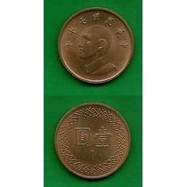 Grr-moneda De China ( Taiwán ) 1 Yuan 1981, Chiang Kai-shek