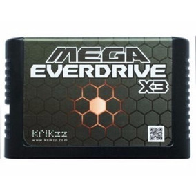 Sega Egenesis Megadrive Everdrive Flash Multicart
