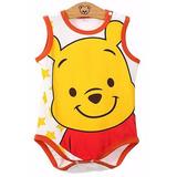 Body Bebê Ursinho Puff - Desenho Disney Pooh