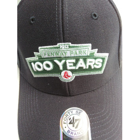 Gorra Boston Red Sox Conmemorativa Fenwaypark 100 Años