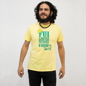 Camisa Nação Zumbi Amarela - Chico Science