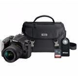 Camara Nikon D3400 Maleta,tarjeta Sd,control Envio Gratis