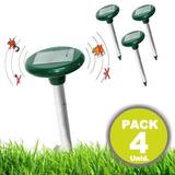 Pack De 4 Repelente Ahuyentador Solar Mosquitos Y Ratones