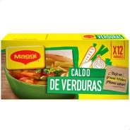 Caldo De Verduras Maggi X12 Unidades - 01mercado