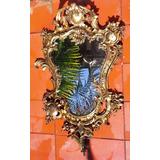 Vendo Hermoso Espejo De Pared Antiguo Rococó Bronce Macizo