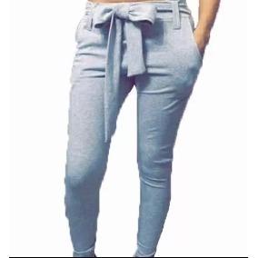 Pantalon Mujer Calza Jogging Joggineta Chupin Lazo Moño