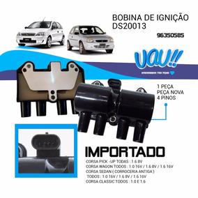 Bobina Ignicao Pinos Mpfi Flex Corsa 1.0/1.4/1.6 8v/16v 2000