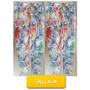 Pantalon Leggins Licras Estampado Flores Talla M Mor-07m