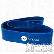 Banda Elástica De Poder Azul Resistencia Nivel 5 Miyagi