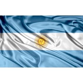 Bandera Argentina Personalizada Mundial Sublimada 1,5x2mts