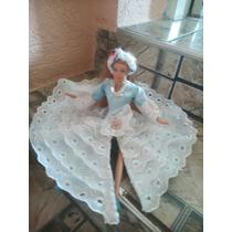 Vestido Da Barbie Modelo Baiana Anos 70