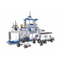 Lego City Policial Delegacia Carro Furgão Lego Compatível