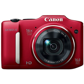 Canon Sx160is Excelente 16x Zoom 16 Mpx Hd Video