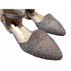 Zapatos Taco Bajo Fiesta Mujer 15/casamiento/madrina