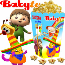 Kit Imprimible Baby Tv Golosinas Cotillon Candy Bar 2x1