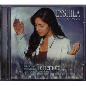 Cd + Playback Eyshila - Terremoto (mk) A11