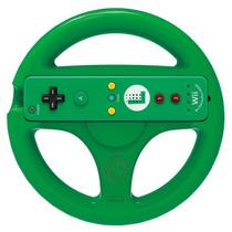 Volante Wii Wheel Mario Kart 8 Verde Hori Nintendo Original
