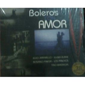 Cd Boleros De Amor Panchos Madrigal Rosario Pineda