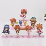 Figuras Colleccionables Kawai Sakura Card Captor 1 Pza