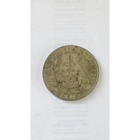 Moeda Prata 2000 Reis 1924 República Estados Unidos Brasil