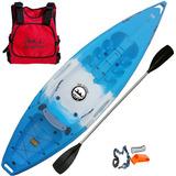 Kayak Moana By Emp Nautica Ideal Pesca Asiento Rigido Y Posa