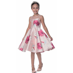 Vestido Festa Petit Cherie Infantil 10.12.31456