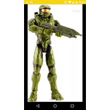 Figura Xbox 360 One Halo Original Mattel Video Juego Control