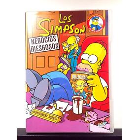 Los Simpson Negocios Riesgosos Dvd (nuevo Original)