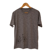 Camiseta Bike - Algodão Orgânico Com Pet Reciclado
