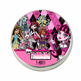 15 Latinhas Personalizadas Festa Monster High