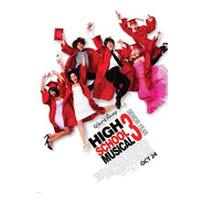 Poster Original Cine High School Musical 3 - La Graduación