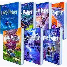 Kit Livro Harry Potter Saga Completa 7 Livros - Lacrados