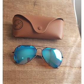 Rayban Hexagonal Azul Espelhado - Óculos De Sol Ray-Ban Aviator no ... b7b11bdd51