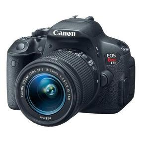 Câmera Canon Eos Rebel T5i 18mp + Kit Zoom Ef-s 18-55mm Is S