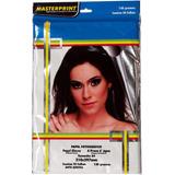 Papel Fotografico Auto Adesivo Glossy A4 130 Gr Masterprint