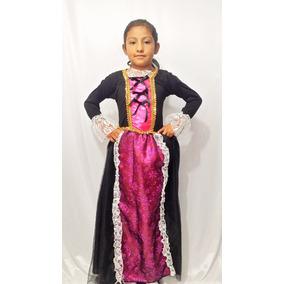 Disfraz Vestido Catrina Niña Hallowen Envio Gratis