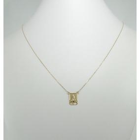 Escapulário Masculino Cordão Cartier 65 Cm Ouro 18k 750
